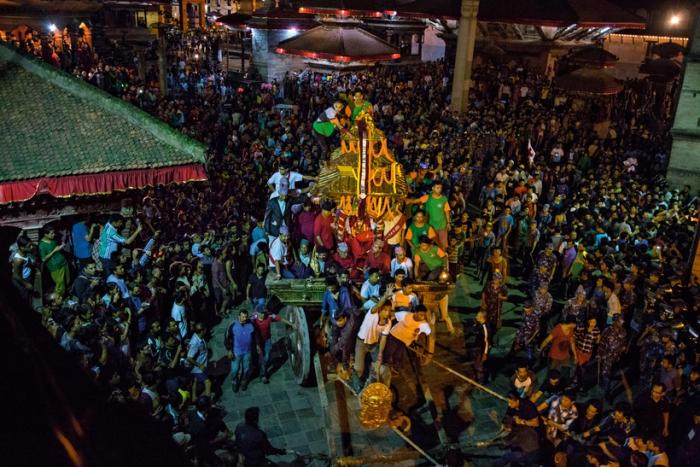 Праздник, посвященный кумари. Фото: travelask.ru