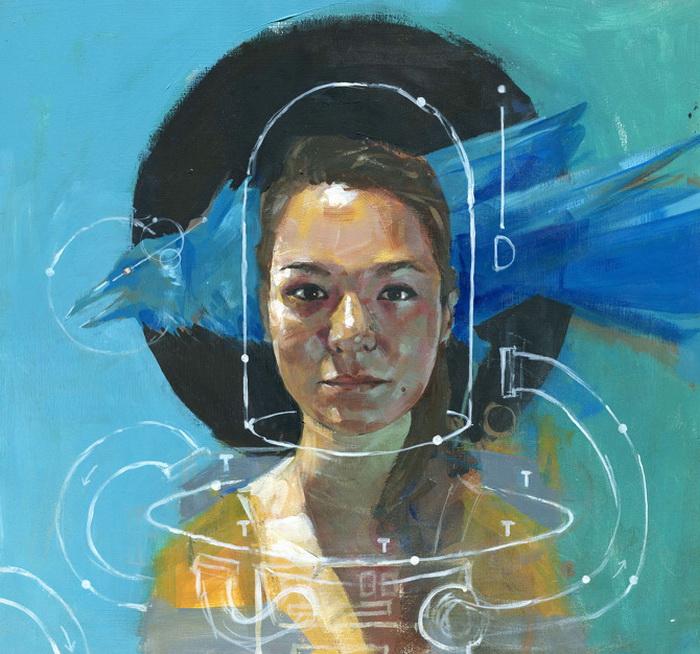 Картины, вдохновленные научной фантастикой