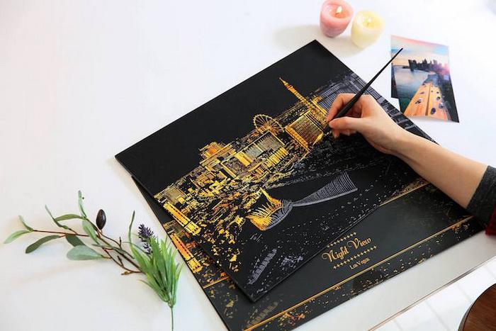 Скретч-арт - интересное хобби для взрослых