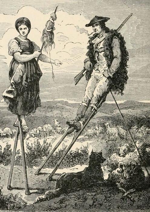 Свидание на ходулях.