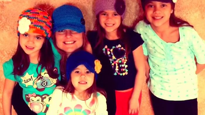 Лаура Руффино приняла девочек, как родных