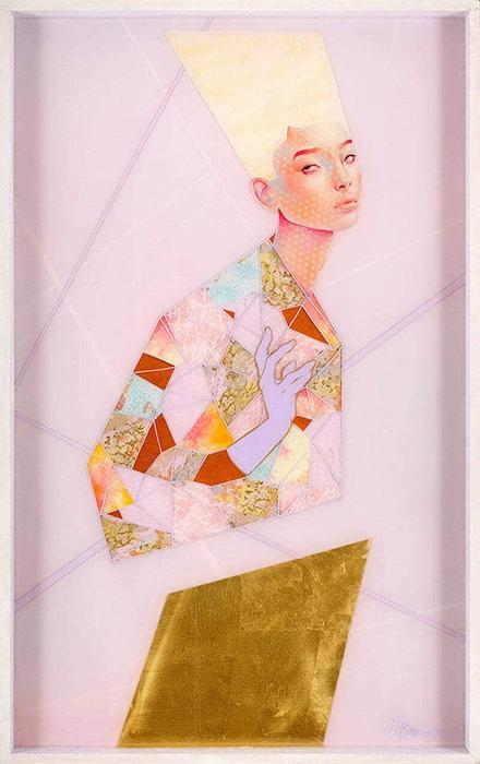 Женские портреты. Творчество художницы Лорен Бревнер.