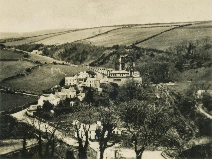 Водяная мельница была построена в 1854 году