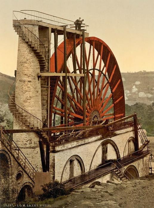Водяная мельница построена по проекту инженера-самоучки Robert Casement