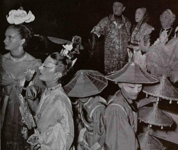 Венецианский бал 1951 год - праздник столетия