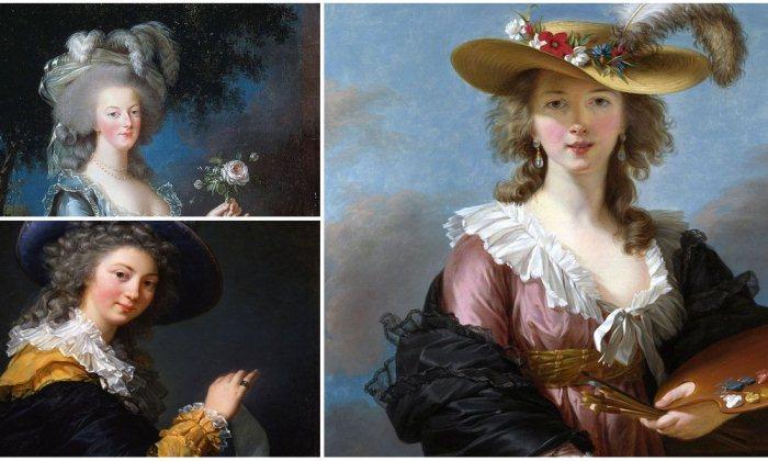 Элизабет Виже-Лебрен - знаменитая французская портретистка XVIII века.