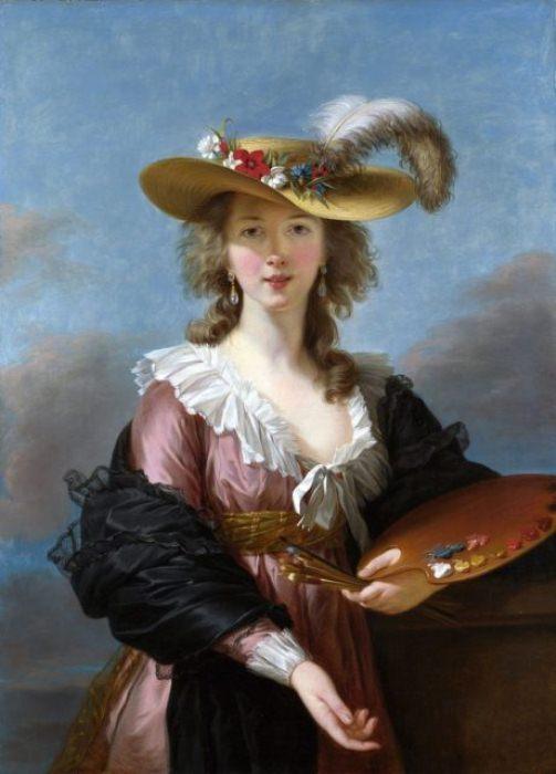 Автопортрет мадам Лебрен.