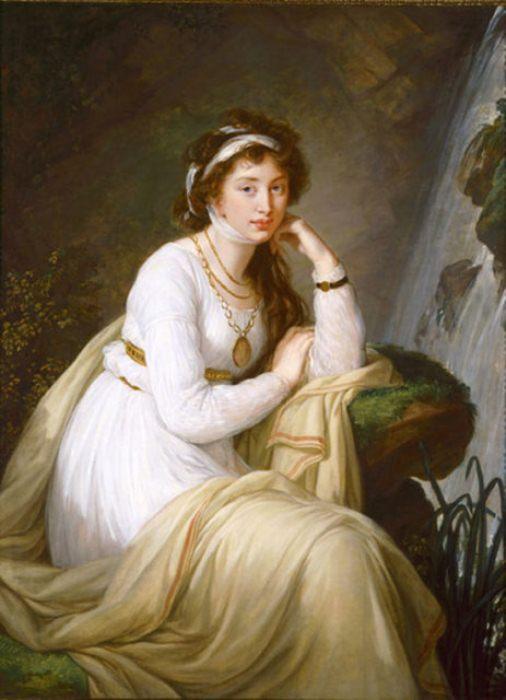 Портрет графини Анны Ивановны Толстой (Барятинской).