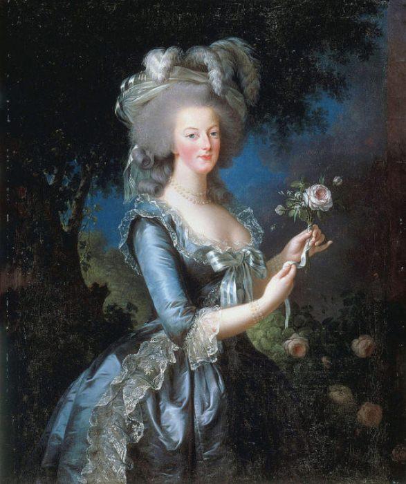 Портрет королевы Марии Антуанетты.