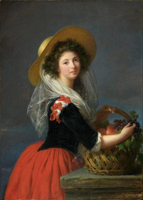 Портрет кисти Элизабет Лебрен, 1784 г.