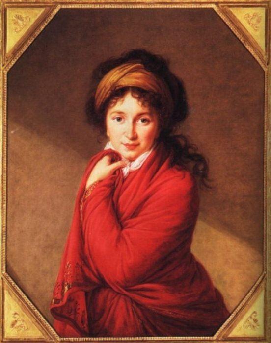 Портрет фрейлины двора Варвары Головиной.