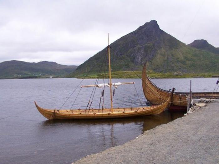 Судно является точной копией суден, которые использовали викинги.