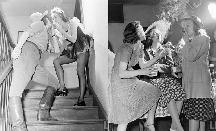 Женская вечеринка, 1941 год