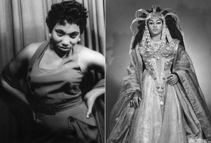 Леонтина Прайс - одна из самых известных афроамериканских оперных исполнительниц