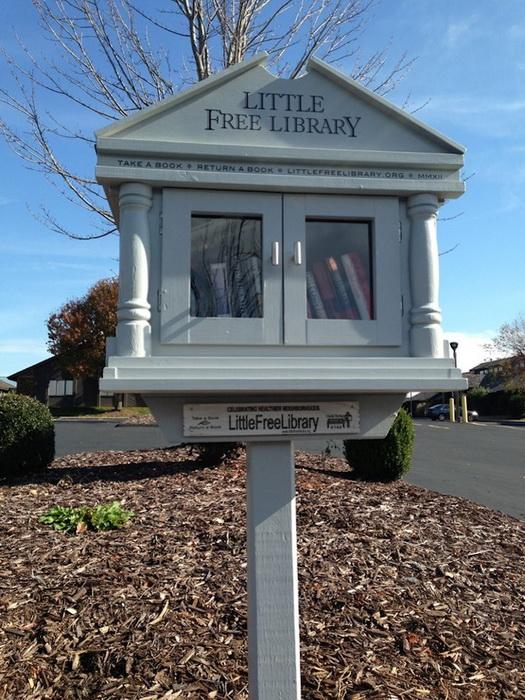 Little Free Library: бесплатные мини-библиотеки по всему миру