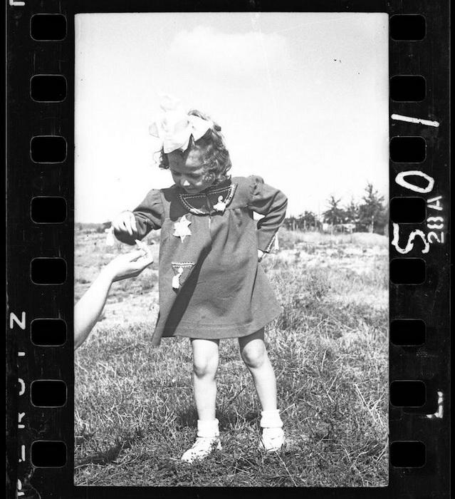 Еврейская девочка.