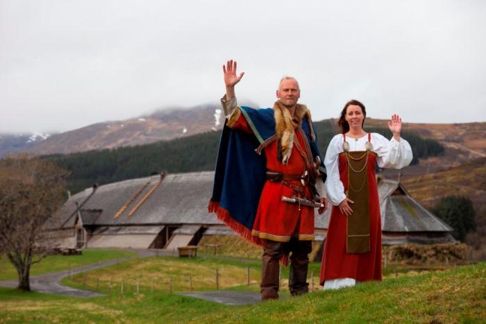 Музей викингов в Лофотре, Норвегия.