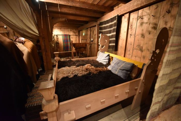 Спальня викингов.