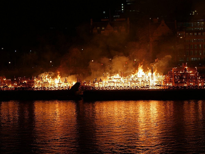 Огненный фестиваль в Лондоне