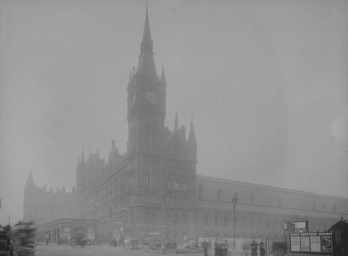 Железнодорожный Вокзал Сент-Панкрас, 1 июля 1907