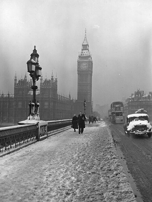 Вестминстерский мост, 14 января 1955 года
