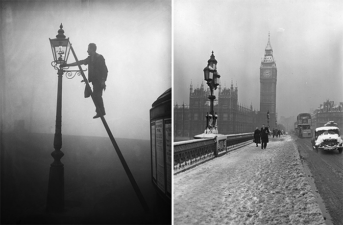Фотографии смога в Лондоне