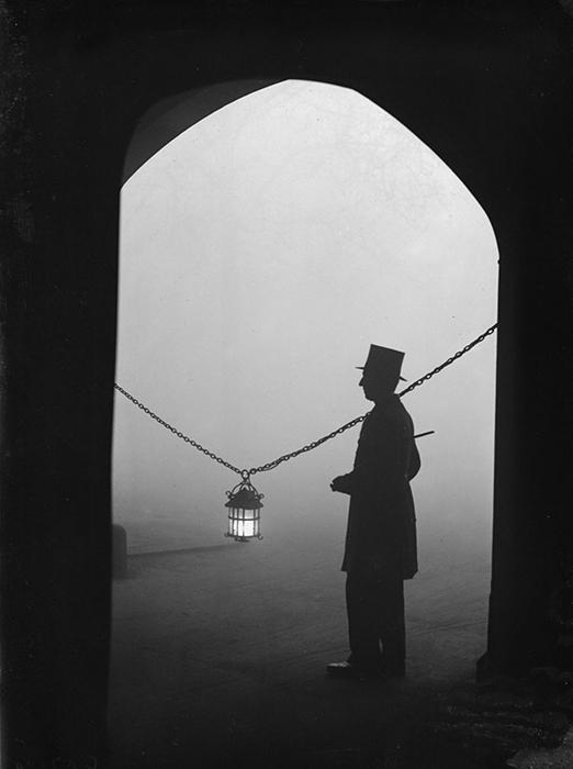 Парк Линкольнс-Инн-Филдс, 24 января 1934 года