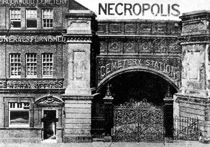 Лондонский некрополь: железная дорога для покойников