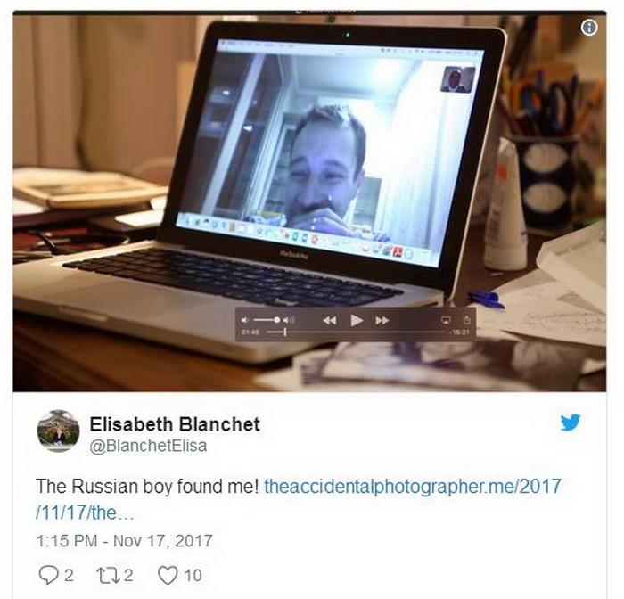 Дмитрий Кретов откликнулся на сообщения Элизабет Бланш.