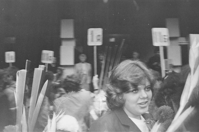 Праздничные фотографии с 1 сентября 1990 года.