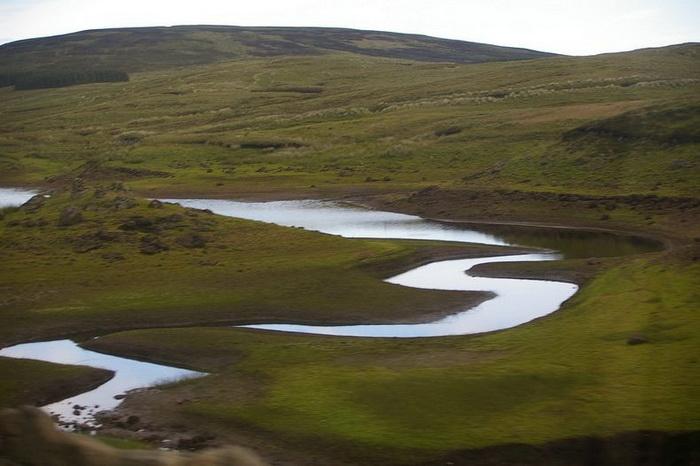 Loughareema, или Исчезающее озеро (Ирландия)