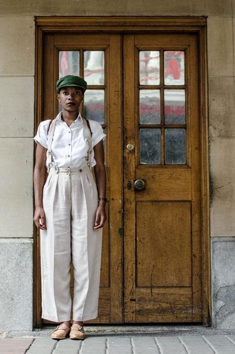 Винтажная мода от дизайнера Lourens Loux Gebhardt