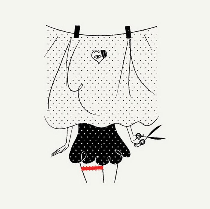 Рисунки о любви от иллюстратора Саймона Массони (Simone Massoni)