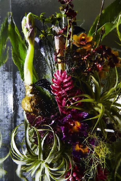 Цветы во льду: творчество флориста из Токио