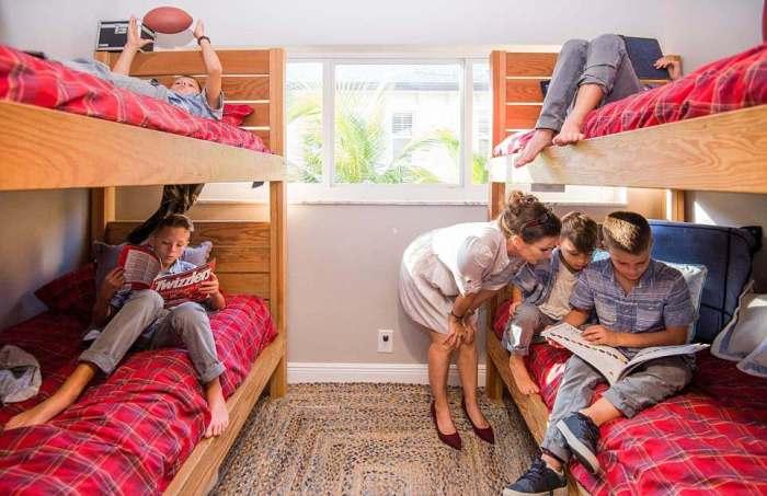 Спальня мальчиков.