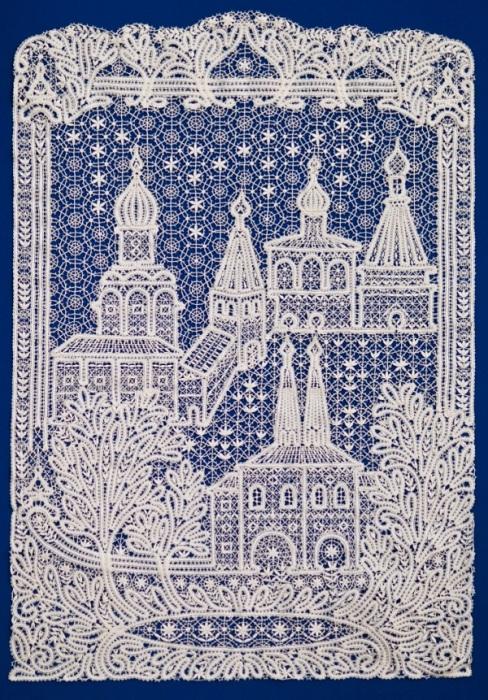 Кружевная картина от Галины Мамровской