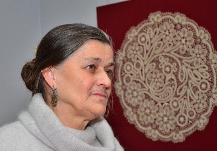 Мамровская Галина - одна из известнейших вологодских кружевниц