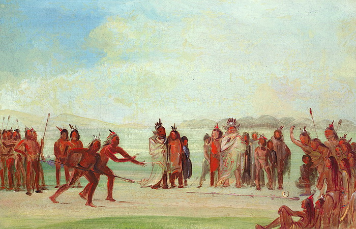 Индейцы из племени мандан
