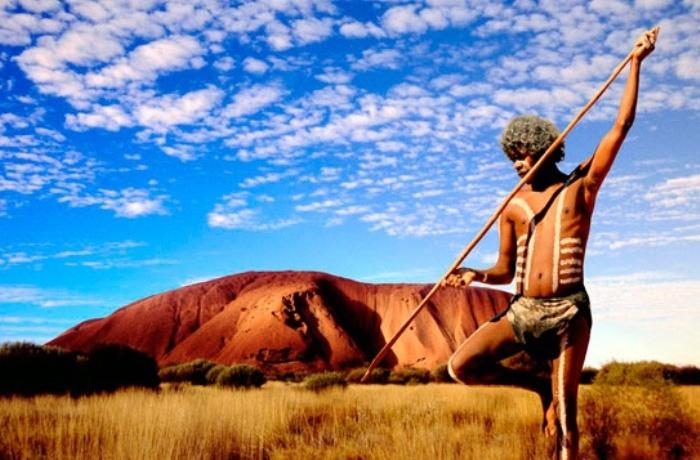 Манджилджара - дикие австралийские аборигены | Фото: svoiludi.ru
