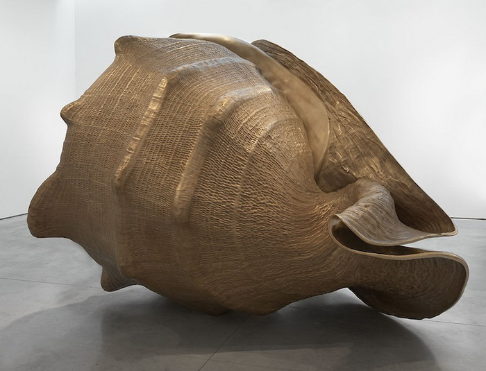 Гигантские бронзовые ракушки. Скульптуры Марка Куинна (Marc Quinn)