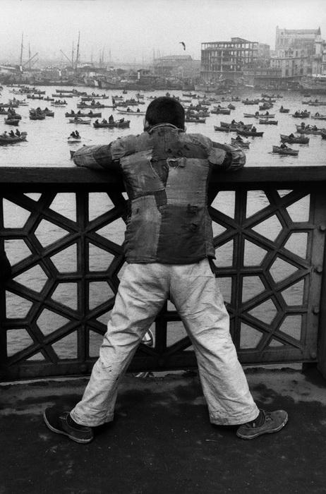 Стамбул, 1953. Мост Галата