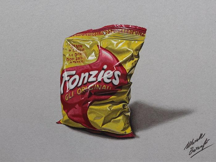 Объемные гиперреалистические рисунки от Марчелло Беренжи (Marcello Barenghi)