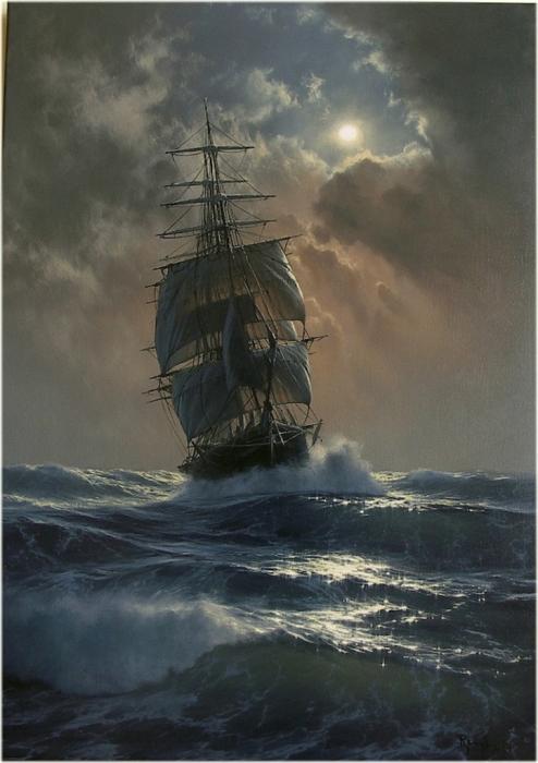 Величие морской стихии.