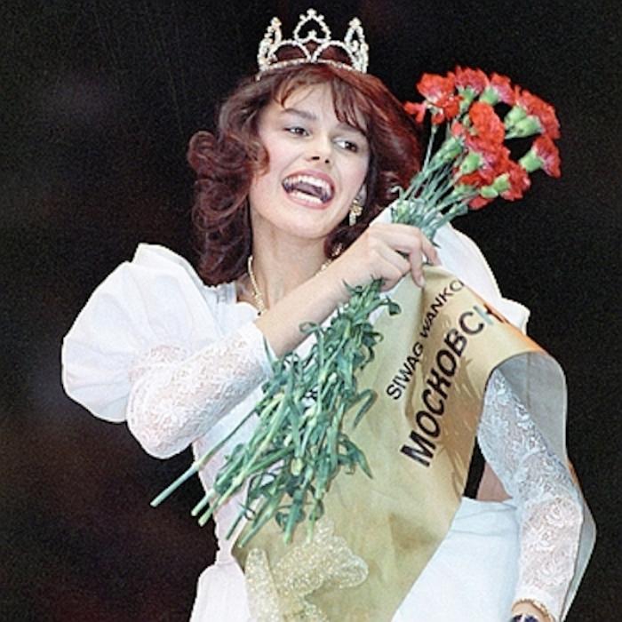 Церемония награждения Марии Калининой, Лужники, 1988 год