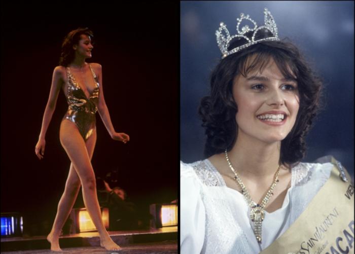 Мария Калинина - победительница первого в СССР конкурса красоты