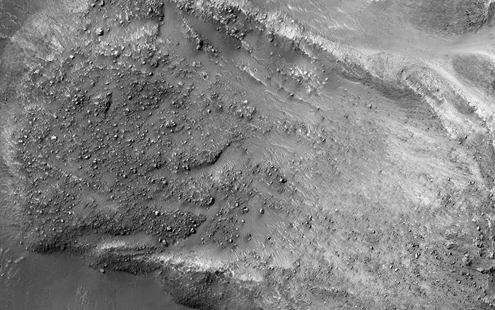 Марсианский оползень