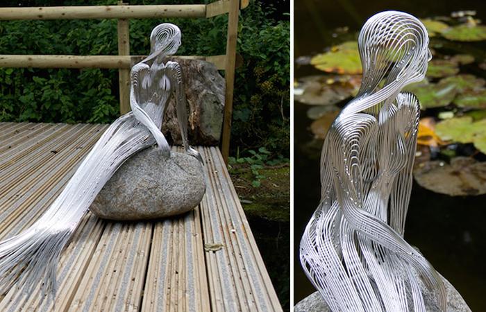 Кованные скульптуры Мартина Дебенгема.