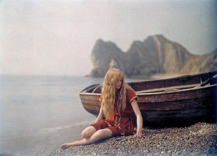 Цветные фотографии от Мервина О'Гормана (Mervyn O'Gorman). 1913 год