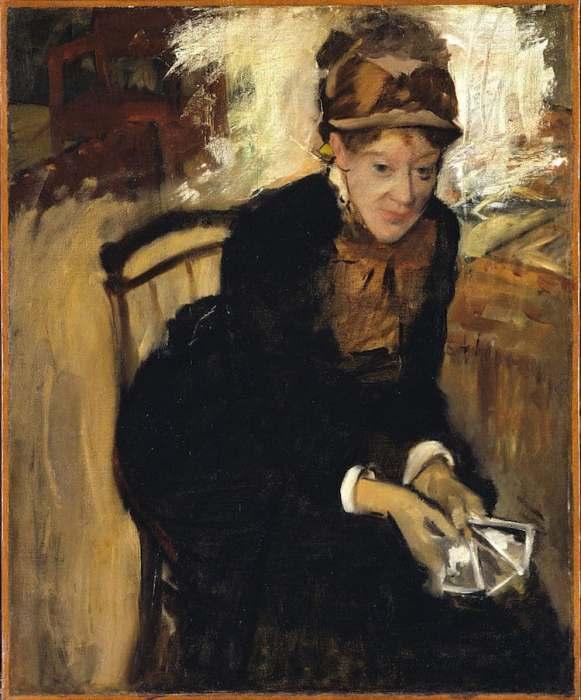 Работа Эдгара Дега и Мэри Кэссетт. Ок. 1880-1884 гг.