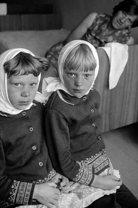 Две девочки в Вологде. 1979 год